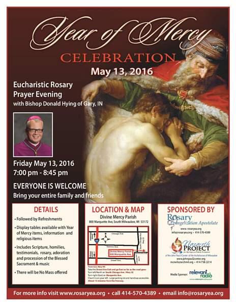 Year of Mercy Celebration Flyer