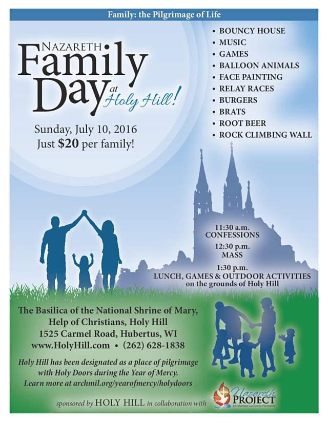 Nazareth Family Day 2016