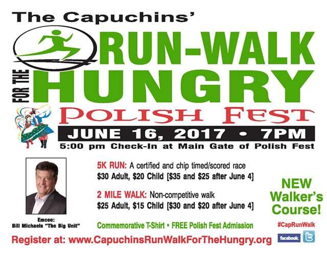 2017 Run Walk Poster