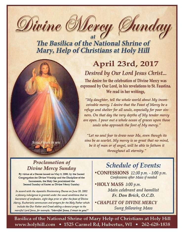 Divine Mercy Sunday 2017
