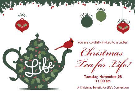 christmas tea for life