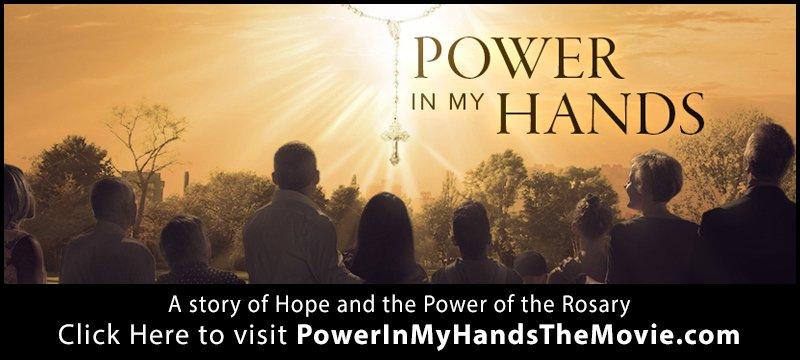 power in my hands banner