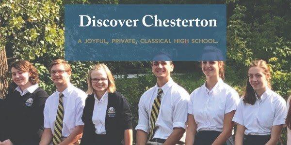 discover chesterton academy