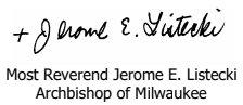 Abp Listecki Signature